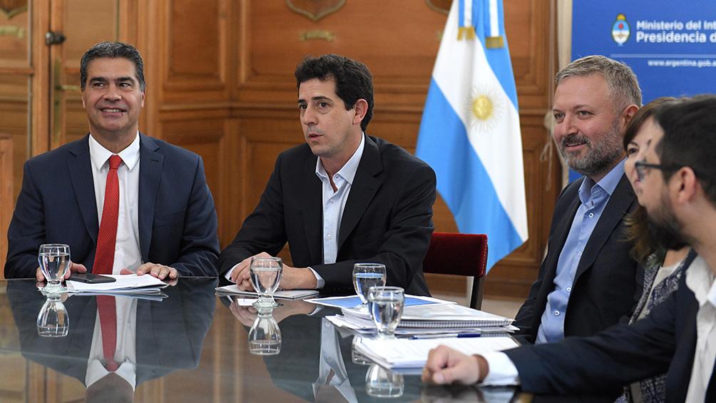 El ministro Wado De Pedro recibió a Capitanich para analizar inversiones en Chaco