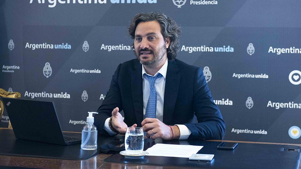 """Cafiero: """"Se terminó la especulación, Argentina necesita ahora dólares genuinos de exportación"""""""