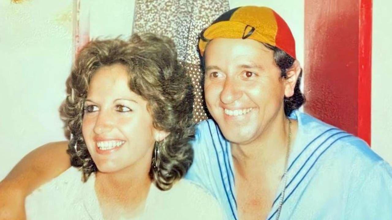 """Aparece foto """"comprometedora"""" entre Don Ramón y la esposa de Quico"""
