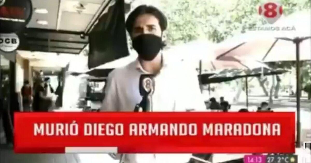 insolito-momento:-un-periodista-sanjuanino-salio-a-buscar-testimonios-sobre-maradona-y-solo-habian-antifutbol