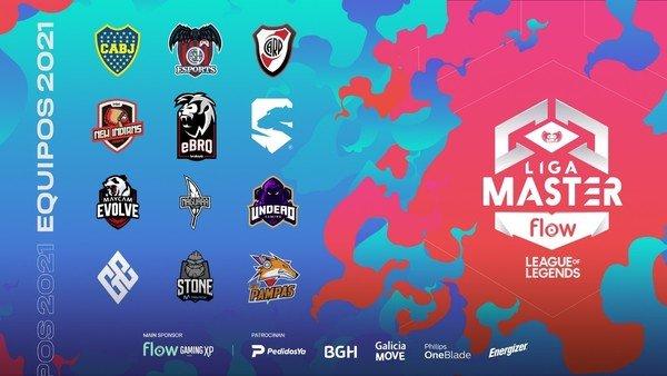 liga-master-flow-2021:-river,-boca-y-san-lorenzo-animan-el-nuevo-torneo-argentino-de-league-of-legends