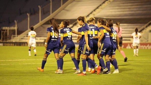 boca-debuto-en-la-copa-libertadores-femenina-con-un-empate-ante-santiago-morning