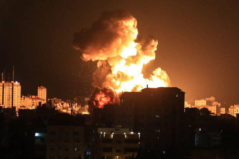 en-fotos:-la-ofensiva-de-israel-sobre-gaza
