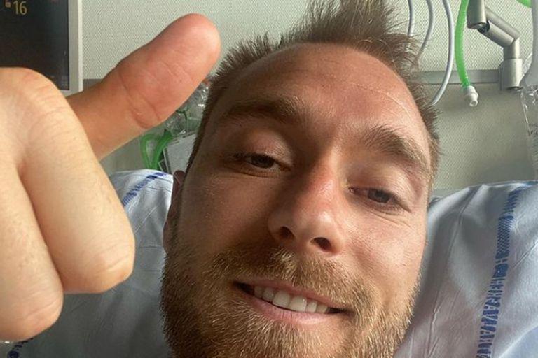 """el-mensaje-de-christian-eriksen-desde-el-hospital:-""""dadas-las-circunstancias,-estoy-bien"""""""