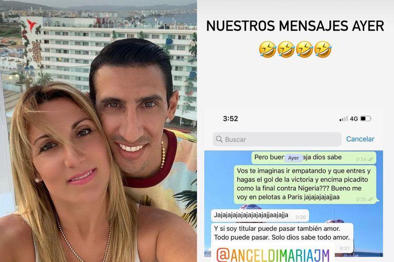 argentina-campeon:-la-premonicion-de-la-esposa-de-angel-di-maria-horas-antes-de-la-final