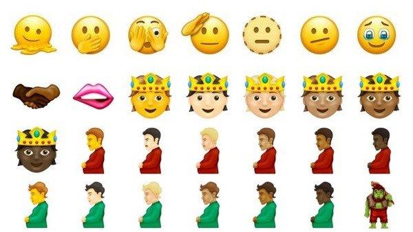 la-diversidad-llega-a-whatsapp-con-nuevos-emojis:-personas-no-binarias,-hombres-embarazados-y-mas